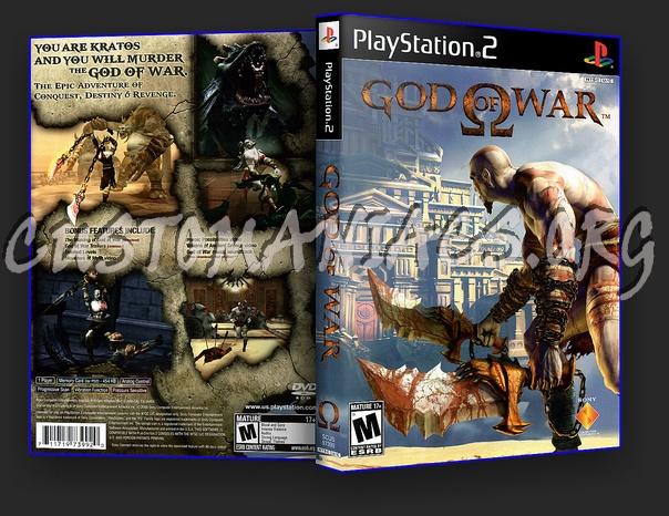 Dvd God of War God of War Dvd Cover