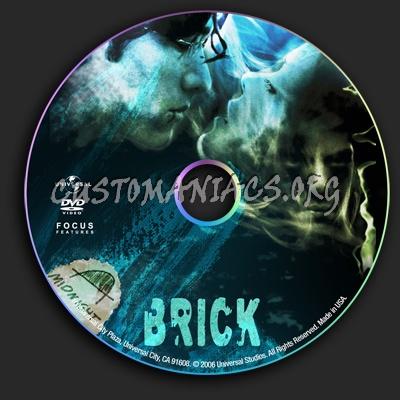 Brick dvd label