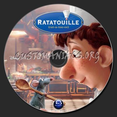 Ratatouille blu-ray label