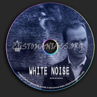 White Noise dvd label