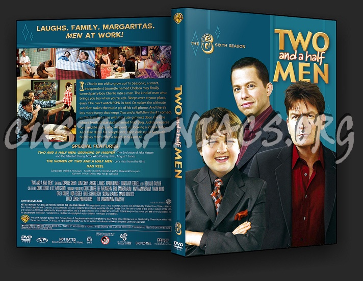 two and a half men season 6 dvd cover dvd covers labels by two and a half men season 6 dvd cover