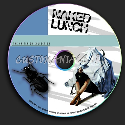 Naked Lunch dvd label
