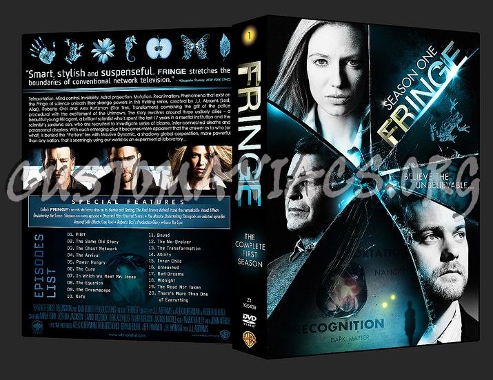 Fringe - Season 1 dvd cover