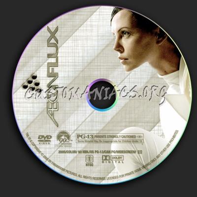 Aeon Flux dvd label