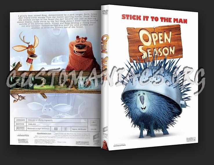 Open Season dvd cover
