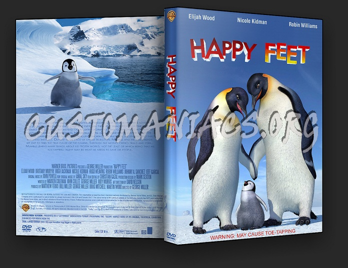 Happy Feet dvd cover