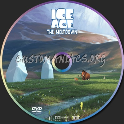 Ice Age 2 dvd label