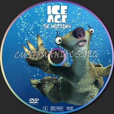 Ice Age 2 dvd label