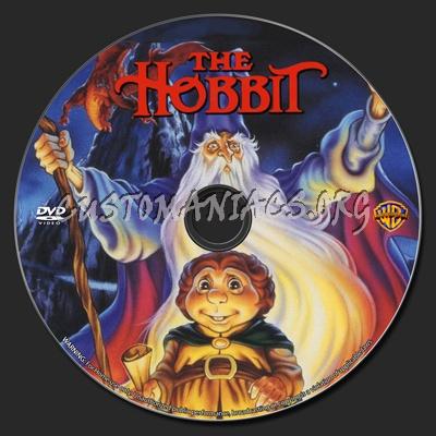 The Hobbit dvd label