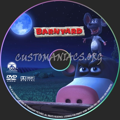 Barnyard dvd label