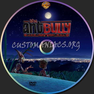 The Ant Bully dvd label