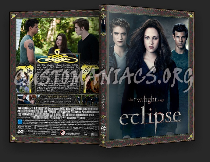 The Twilight Saga: Eclipse dvd cover