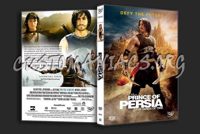 Prince Of Persia The Sands Of Time Dvd Cover Dvd Covers Labels By Customaniacs Id 103227 Free Download Highres Dvd Cover