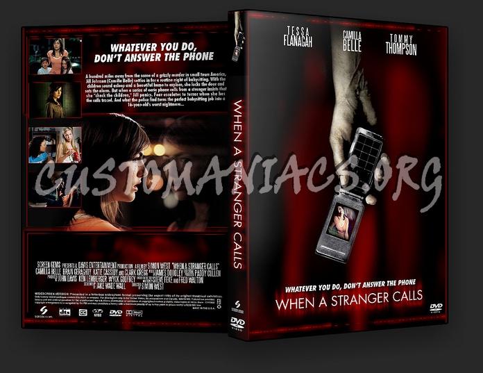 When A Stranger Calls dvd cover