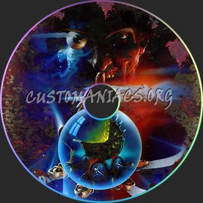 A Nightmare On Elm Street 5: The Dream Child dvd label