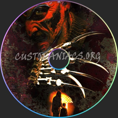A Nightmare On Elm Street 7 - Wes Craven's New Nightmare dvd label