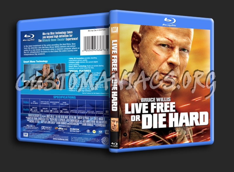 DIE HARD QUADRILOGY - Available on Blu-ray NOW