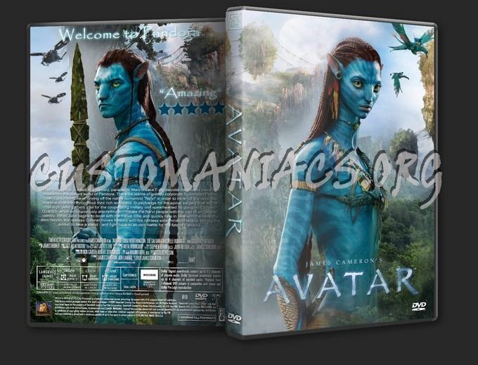 Avatar dvd cover