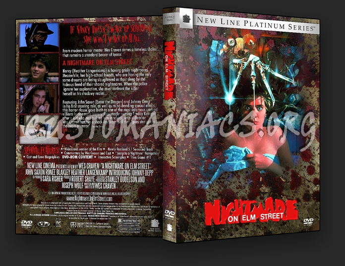 A Nightmare On Elm Street dvd cover