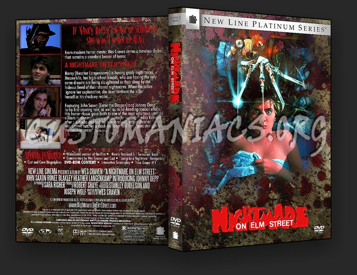 A Nightmare On Elm Street - Spanning Spine dvd cover
