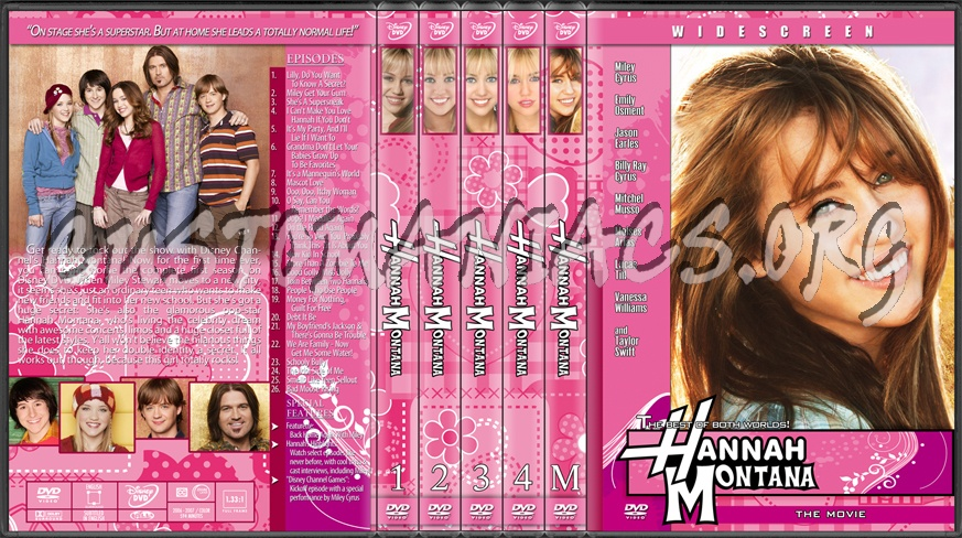Hannah montana dvd cover dvd covers amp labels by customaniacs id
