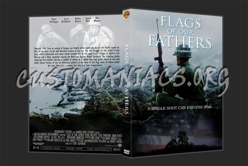 Flags Of Our Fathers dvd cover