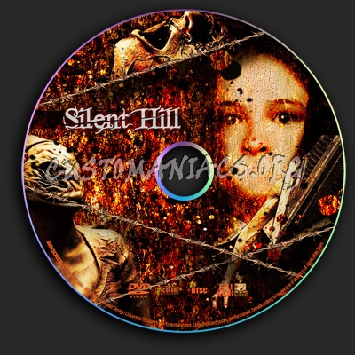 Silent Hill dvd label