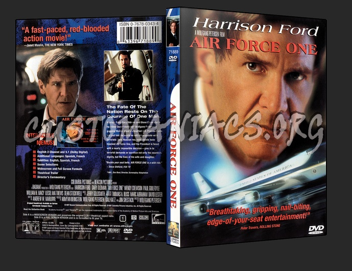 Air Force One dvd cover