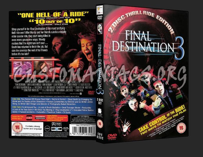 Final Destination 3 dvd cover