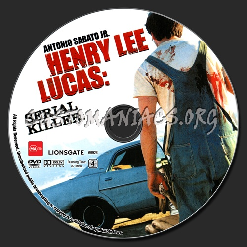 Henry Lee Lucas : Serial Killer dvd label