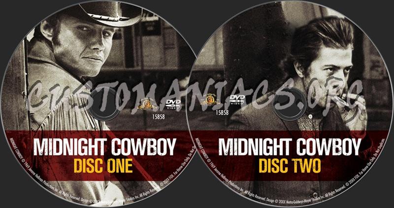 Midnight Cowboy dvd label