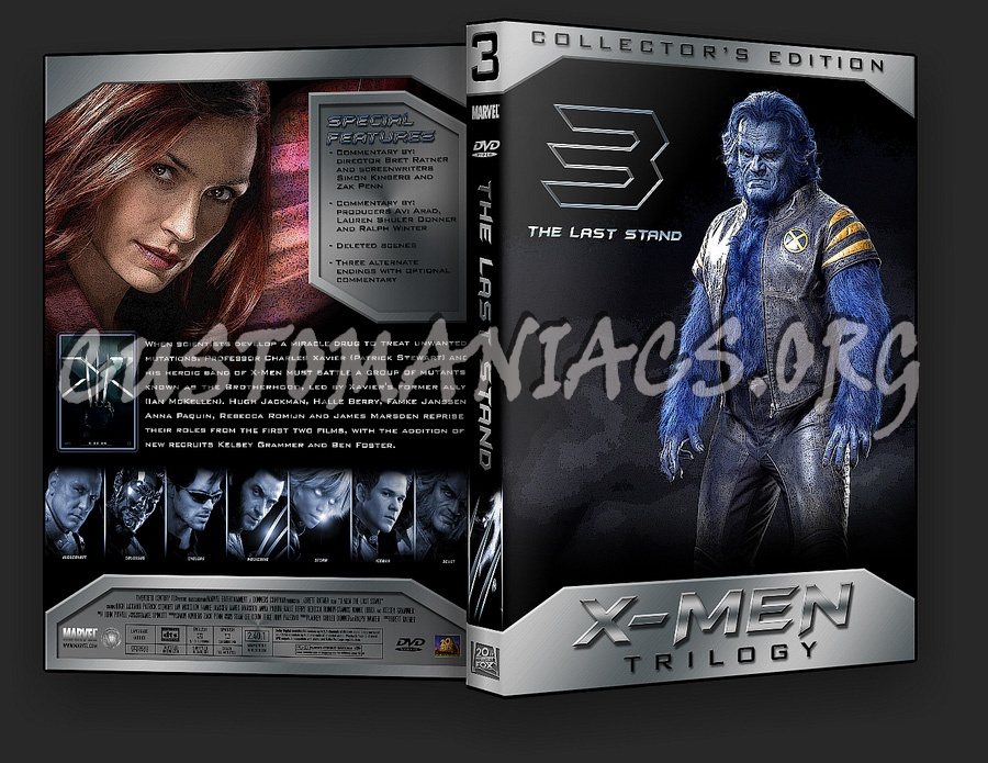 X Men Dvd Cover: DVD Covers & Labels By