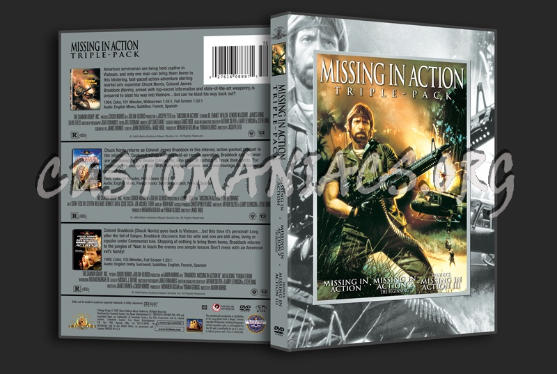 Missing in Action Triple-Pack dvd cover