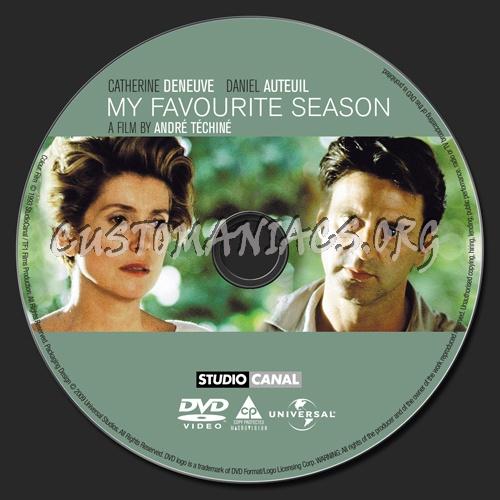 My Favourite Season dvd label