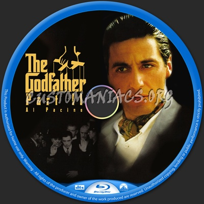 The Godfather Part II blu-ray label