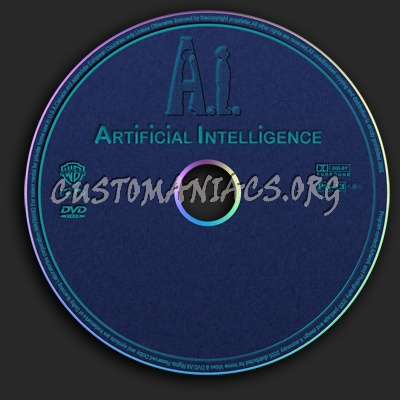 Artificial Intelligence / A.I. dvd label