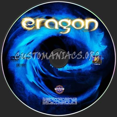Eragon dvd label