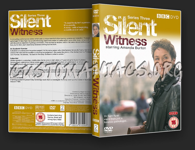 Silent Witness Series 3 dvd cover