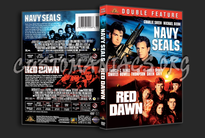 Navy Seals / Red Dawn dvd cover