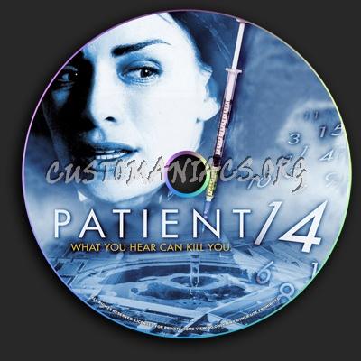 Patient 14 dvd label