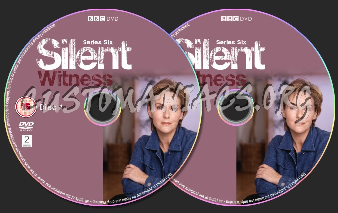 Silent Witness Series 6 dvd label