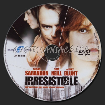 Irresistible dvd label