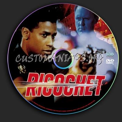 Ricochet dvd label