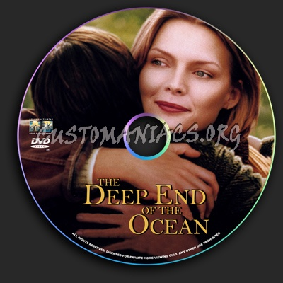 The Deep End of the Ocean dvd label