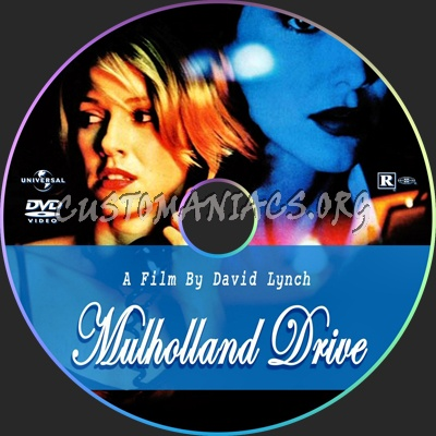 Mulholland Drive dvd label
