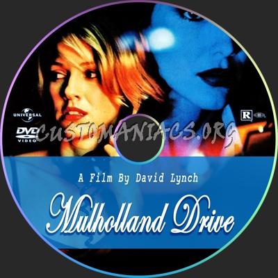 Mulholland Drive dvd label