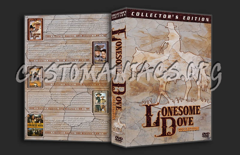 Lonesome Dove Collection dvd cover