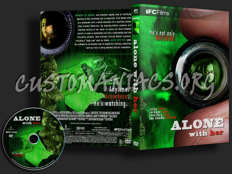 Alone With Her dvd cover