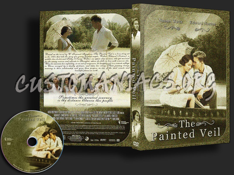 The Painted Veil dvd cover