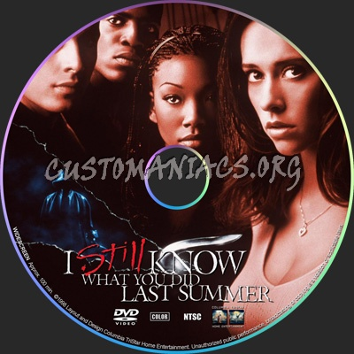I Still Know What You Did Last Summer dvd label